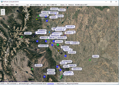 PinPoint APRS for amateur radio on